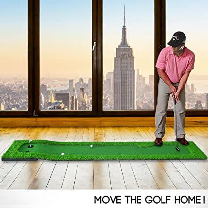 Charmant LINSGROUP® Golf Putting Green System Indoor/Outdoor Home/Office  Professional Golf Training Mat
