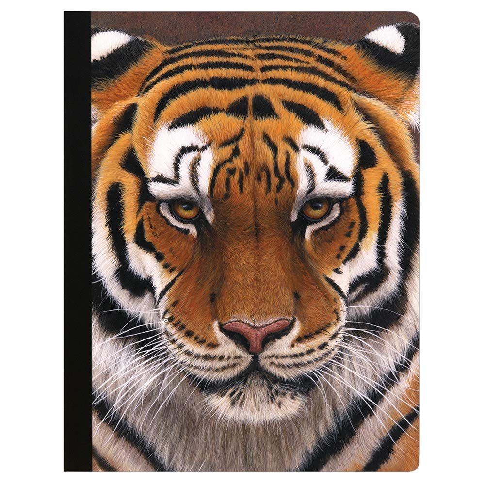 Tree-Free Greetings Big Cat Cuddle Soft Cover 140 Page Tree-Free Composition Book 9.75 x 7.25 Inches CJ47315