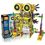 HAHAone Robotik Baukästen Wissenschaft Spielzeug für Kinder, Assembly Building Blocks Bricks Roboter DIY Spielzeug-Installationssatz , Batteriemotor betrieben, 3D-Puzzle Alien-Primas Roboter-Abbildung