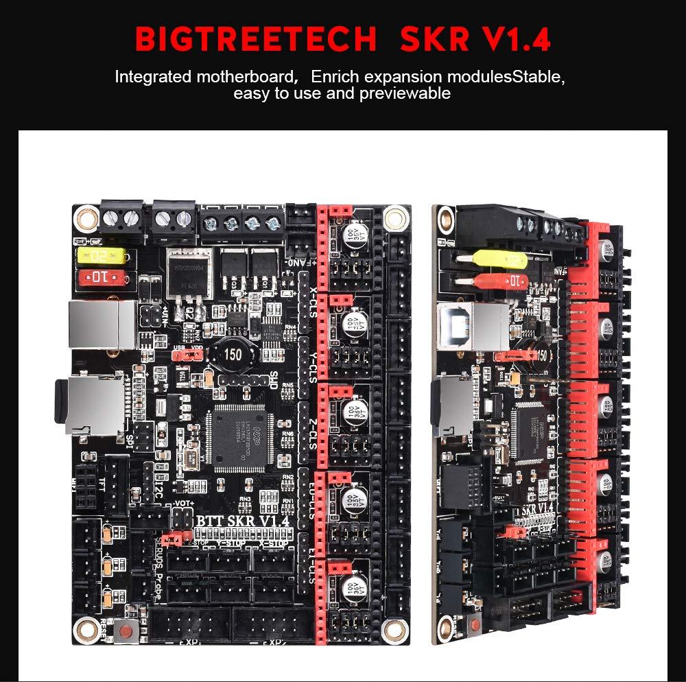 PoPprint V1.4 Turbo scheda madre RGB LED lampada stampante 3D parti per stampanti 3D fai da te Modulo di alimentazione BTT DCDC MODUS V1.0 per SKR V1.4 2 pezzi