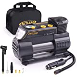 AUTLEAD C2 12V DC Portable Air Compressor Tire Inflator Pump with Digital Gauge for Car Bike Tires and Other Inflatables
