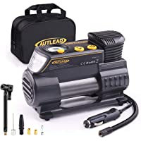 $36 » AUTLEAD C2 12V DC Portable Air Compressor Tire Inflator Pump with Digital Gauge for Car Bike…