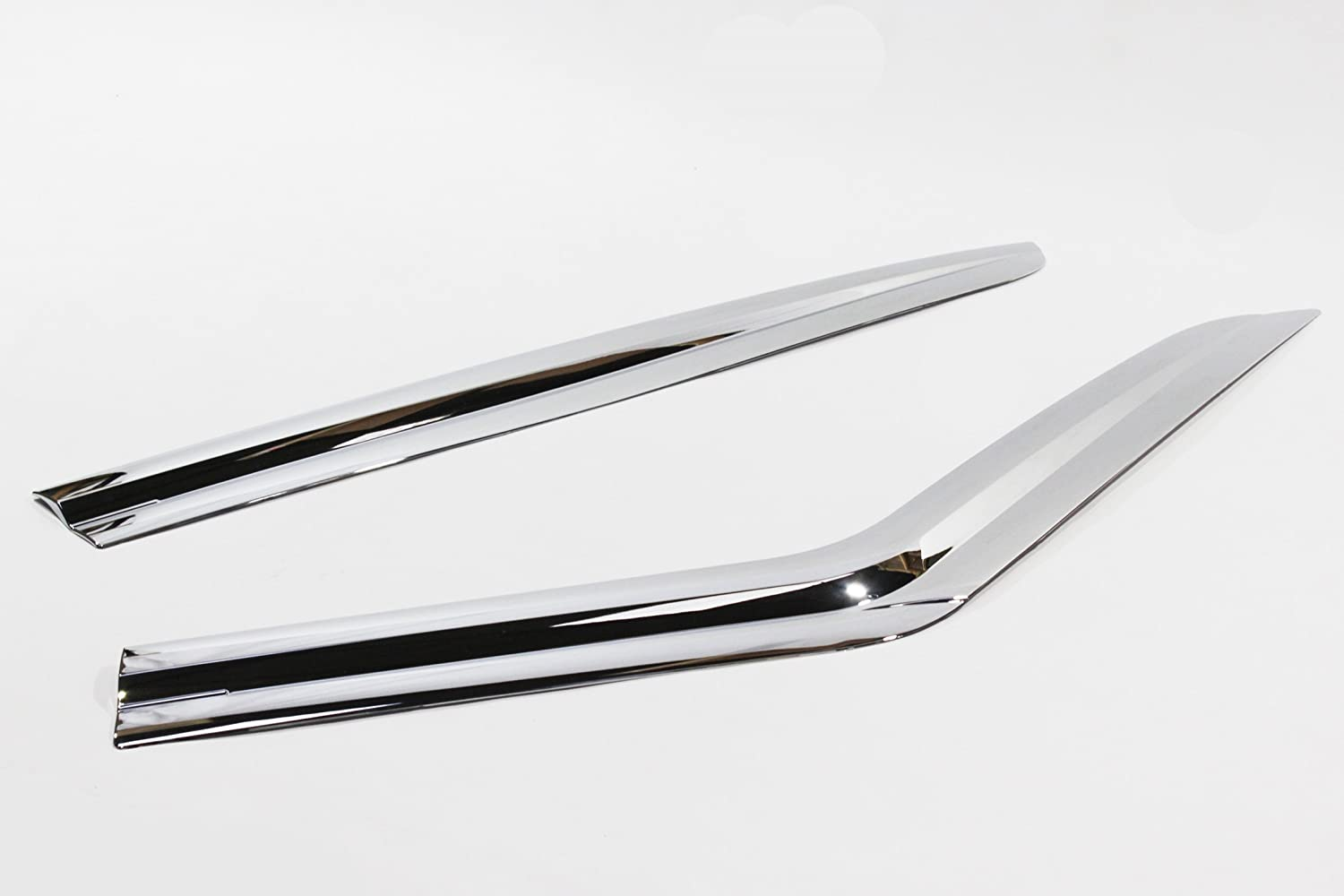 Autoclover Chrome Wind Deflectors Set for Land Rover Discovery 3 /& 4 4 pieces