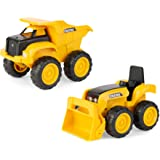 TOMY John Deere Construction Vehicle Toys, Pack of 2