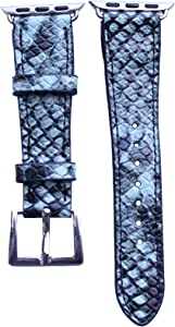 40mm/38mm Compatible for Apple Watch, Bold Winter Snakeskin Watch Band No. 15