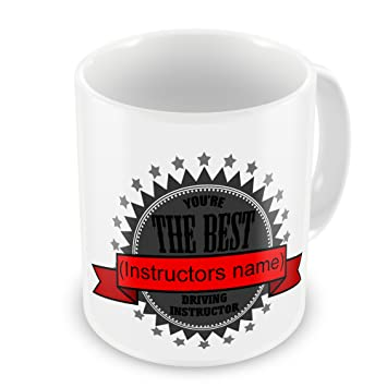 e07193f39d1 Personalised You re The Best Driving Instructor Novelty Gift Mug   Amazon.co.uk  Garden   Outdoors