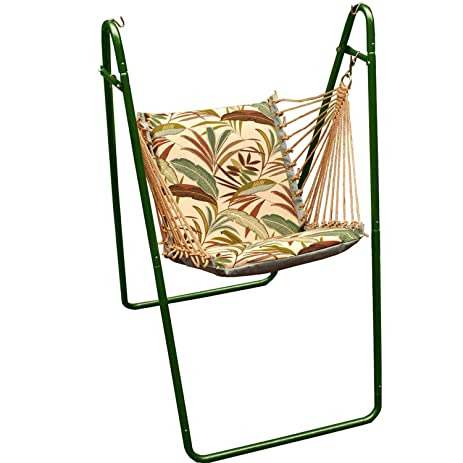 algoma 1525 161162g swing chair with green colored stand amazon     algoma 1525 161162g swing chair with green colored      rh   amazon