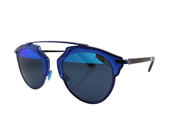 e92acda1e19 Amazon.com  Dior KMA Blue So Real Aviator Sunglasses Lens Category 3 ...