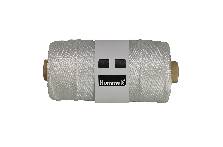 Hummelt/® Garn Takelgarn Segelgarn Maurerschnur 1,3mm 100m rot auf Rolle