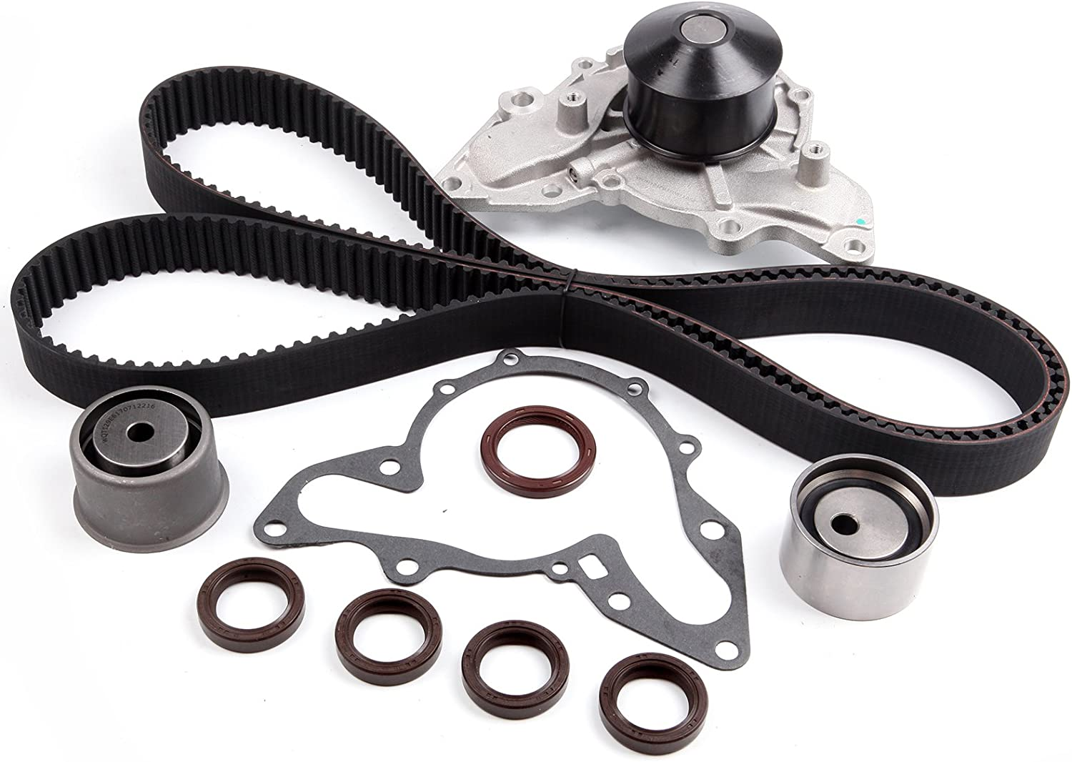 ANPART Timing Belt Kit Fit For 2003-2006 Kia Sorento Timing Belt Water Pump Tensioner Gasket Set