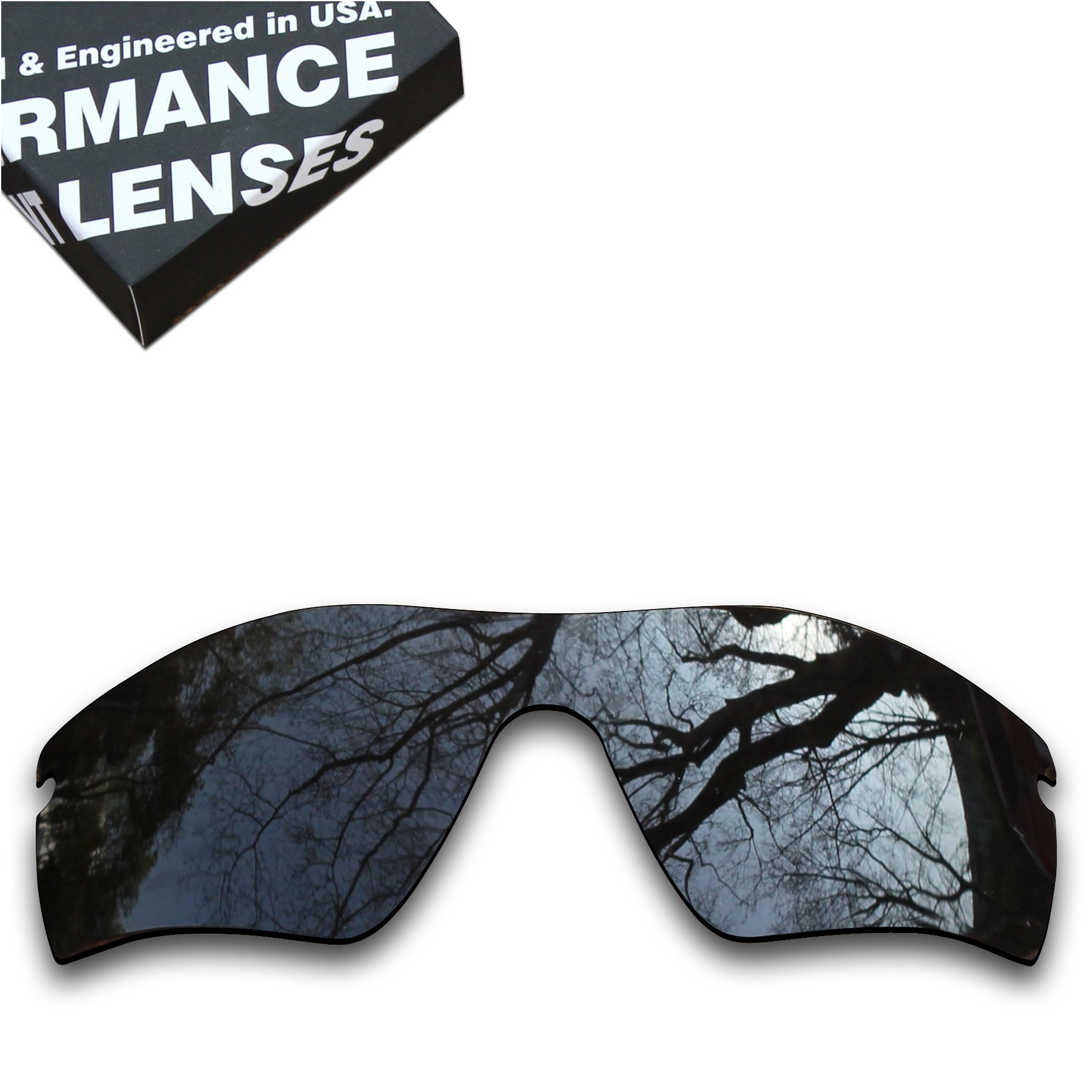 ToughAsNails Polarized Lens Replacement for Oakley Radar Path Sunglass - More Options