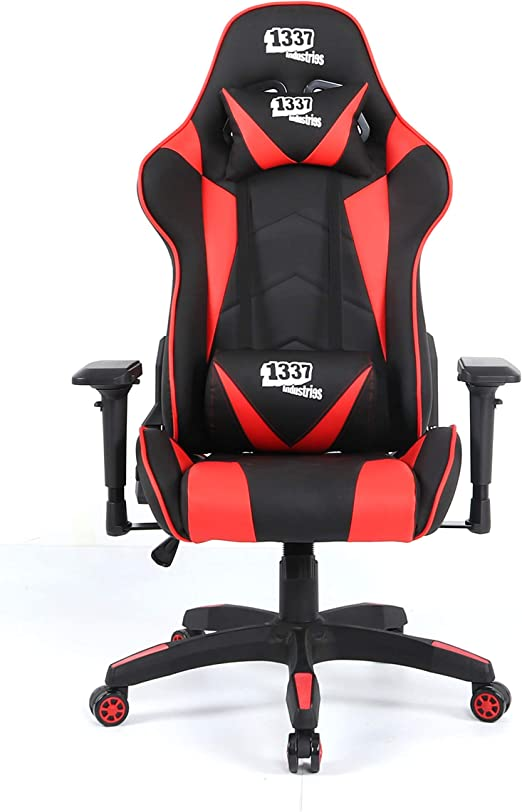 1337 Industries Silla GC790 4D (Roja) - Silla Gaming: Amazon.es ...