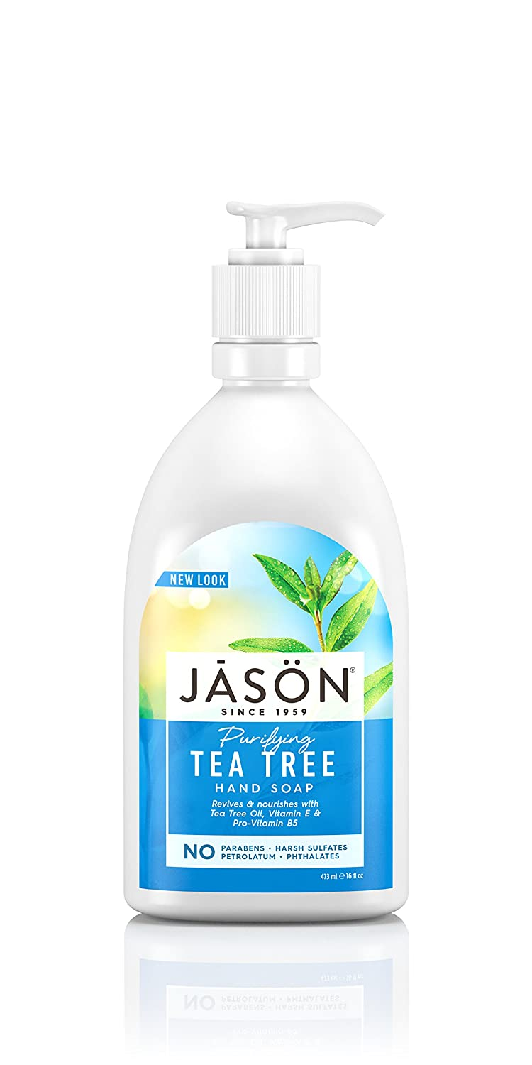 Jason Purifying Tea Tree Hand Soap, 473ml 03017