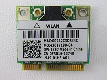 Amazon.com: DELL mini PCI Express FR016 WLAN wifi 802.11 g ...