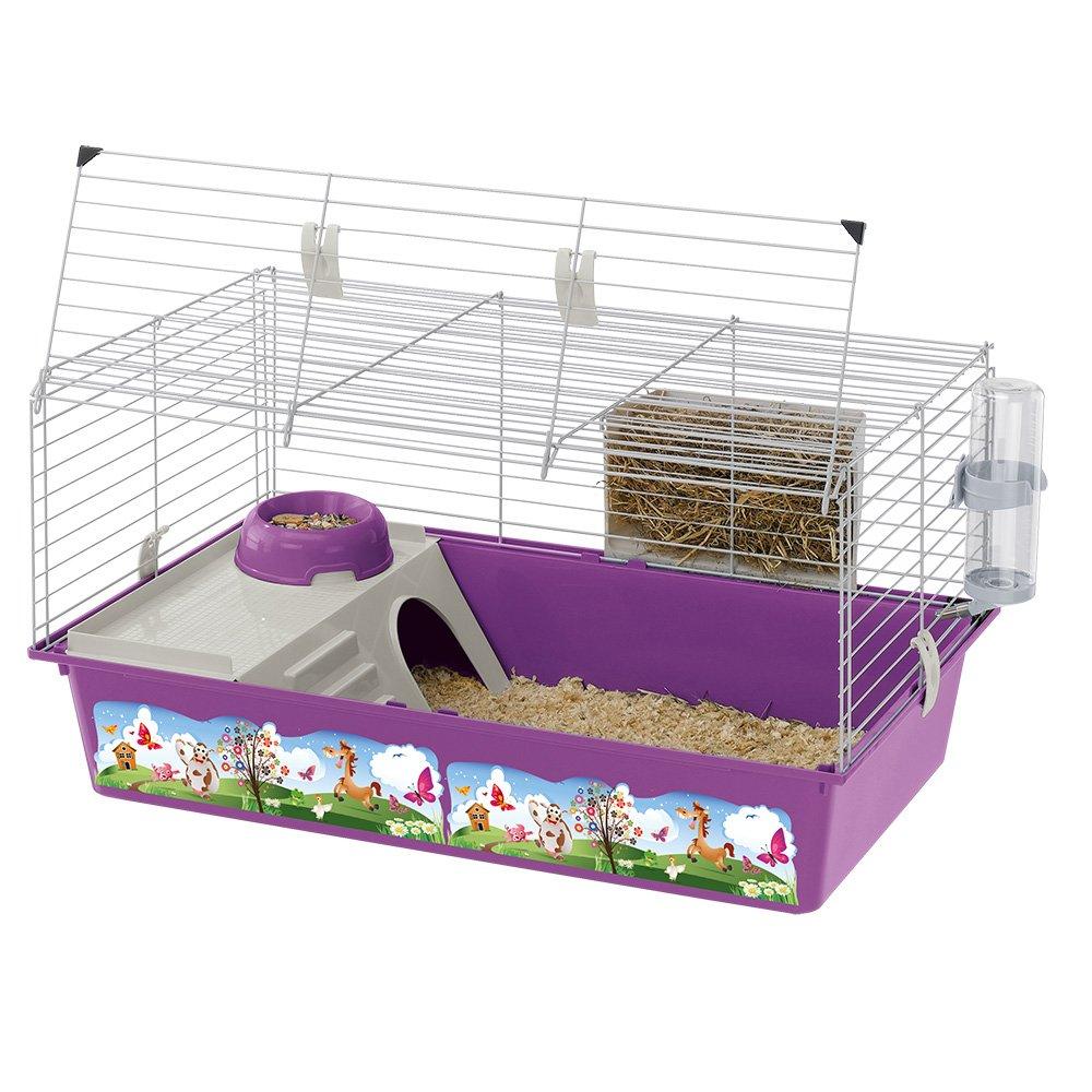 Ferplast Rabbit 80 Cavie Decor   Rabbit   Guinea Pig Cage