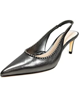 90ae50f6ad1 Zara Women s Studded Leather high-Heel Shoes 5211 301 Black  Amazon ...