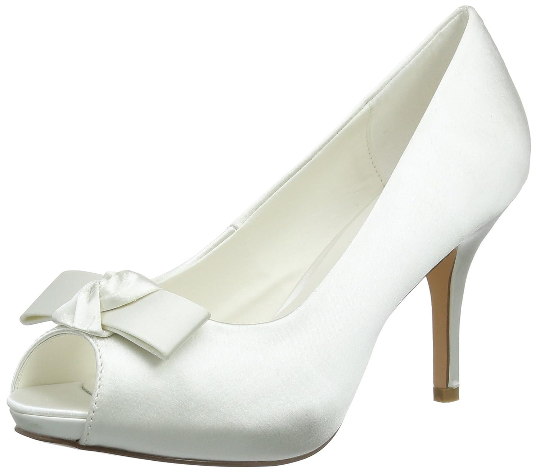 Menbur Wedding Luz, Zapatos de tacón con Punta Cerrada para Mujer
