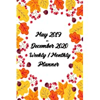 May 2019 - December 2020 Weekly / Monthly Planner: Pretty Simple 20 Month Pocket Calendar Planner - Get Organized. Get Focused. Take Action Today and Achieve Your Goals