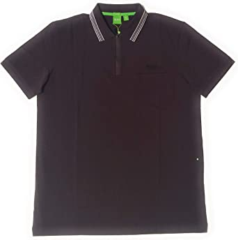 BOSS Green Mens PL-Tech Polo Black 50399317 001
