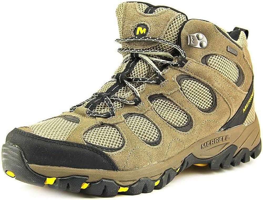Merrell Men s Hilltop Vent Mid Waterproof Hiking Shoes