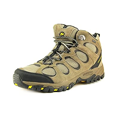 Amazoncom Merrell Mens Hilltop Vent Mid Waterproof Hiking Shoes Hiking Shoes