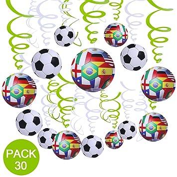 Amazon.com: Supla 30 unidades fútbol para colgar ...