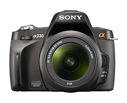 amazon com sony alpha a230l 10 2 mp digital slr camera with super rh amazon com sony alpha 230 manual sony alpha dslr-a230 manual