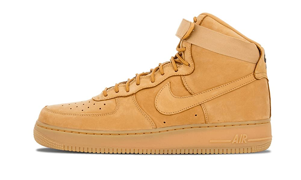 100% Authentic Nike Air Force 1 high 07 LV8 WB wheat