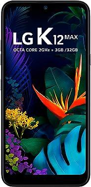 Celular LG K12 MAX, LG, LMX520BMW.ABRAPL, 32GB, 6.26'', Platinum