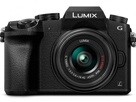 Panasonic Lumix G7 4 K Mirrorless Camera, With 14 42mm Mega O.I.S. Lens, 16 Megapixels, 3 Inch Touch Lcd, Dmc G7 Kk (Usa Black) by Panasonic