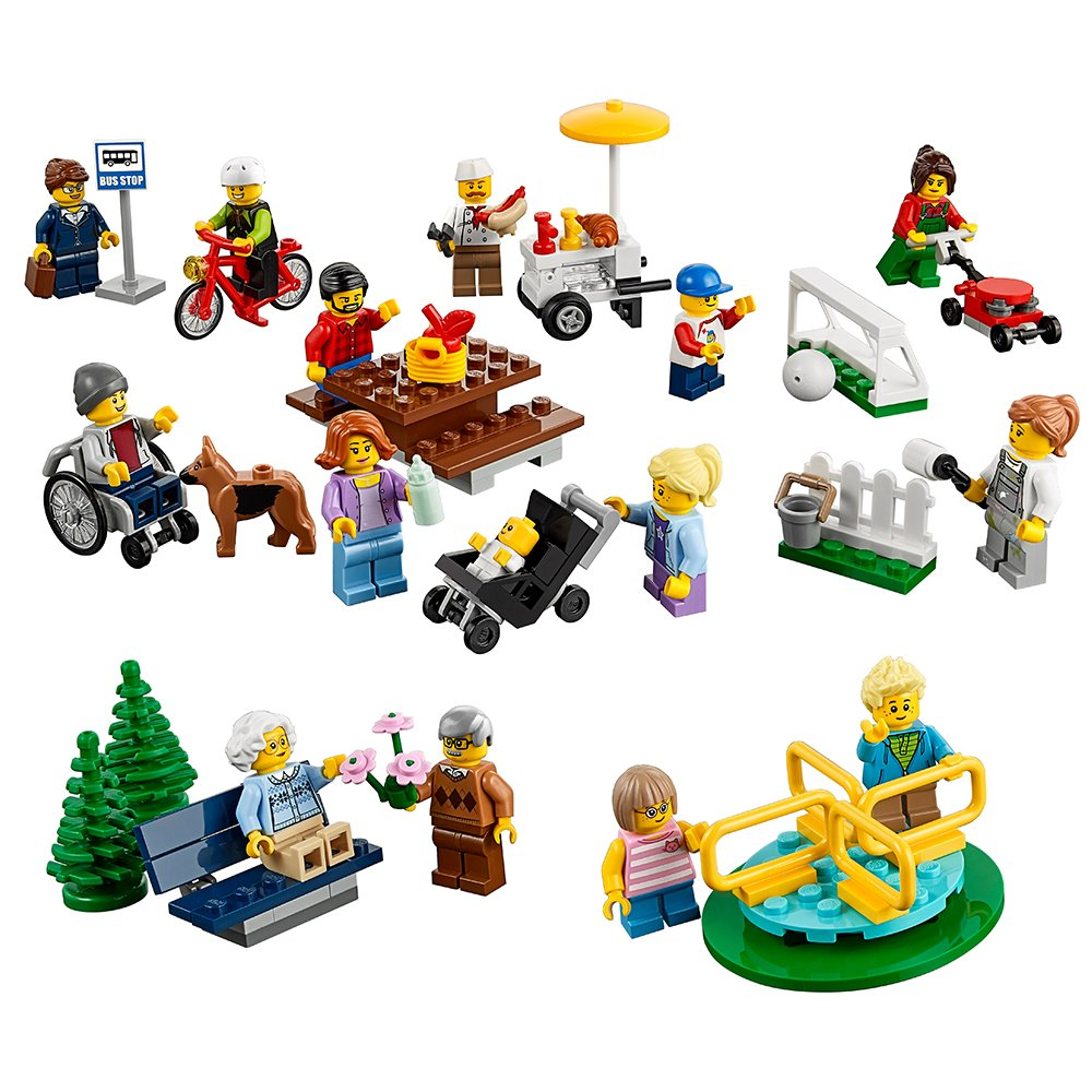 LEGO City Town Fun in the Park - City People Pack 60134 Building Toy by LEGO