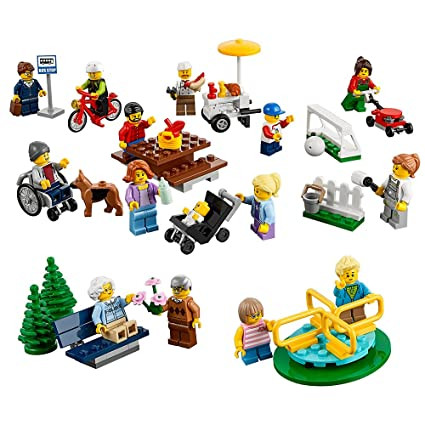 LEGO® City Town Fun in the Park - City People Pack 60134 Building ...