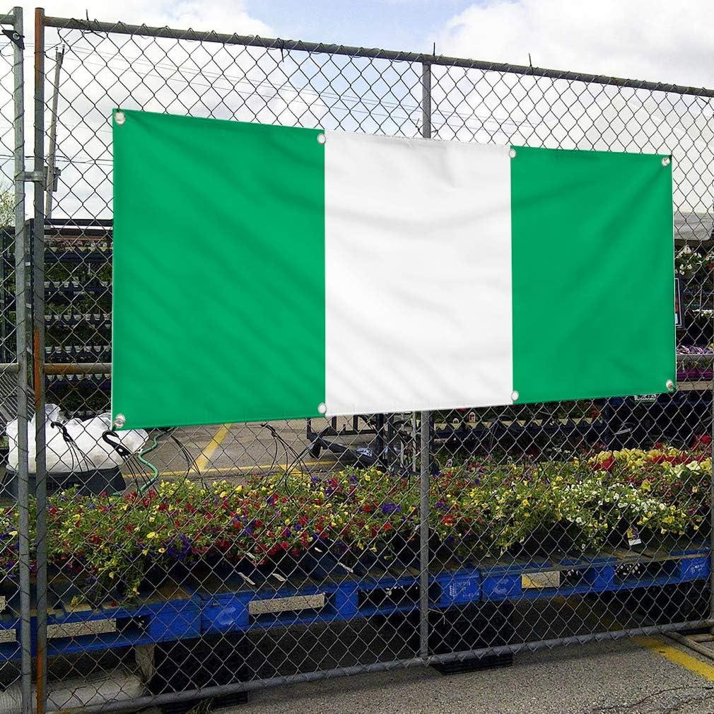 44inx110in 8 Grommets One Banner Multiple Sizes Available Vinyl Banner Sign Ivory Cost Flag Orange White Green Marketing Advertising Orange