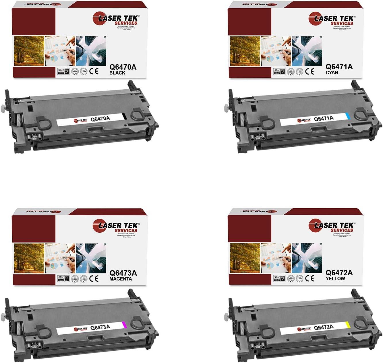 Cyan, 1-Pack Laser Tek Services Compatible Toner Cartridge ...