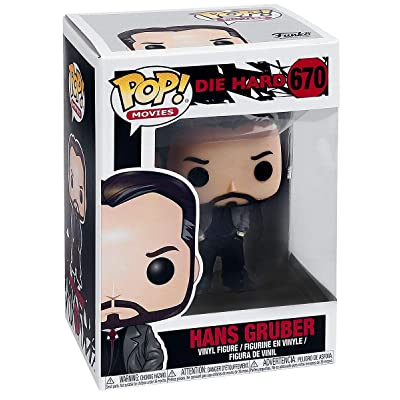 Funko Pop Movies: Die Hard - Hans Gruber in Trench Coat Collectible Figure, Multicolor: Toys & Games