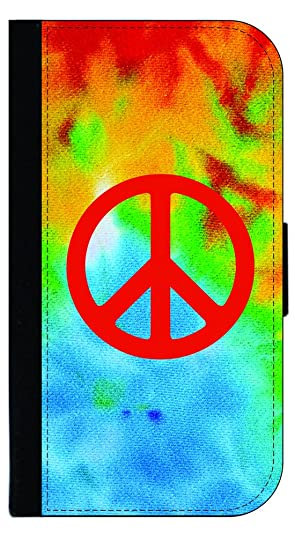 Amazon Tie Dye With Peace Sign Tm Samsung Galaxy S7 Leather