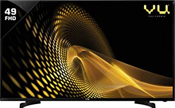 VU 124 cm  49 Inches  Full HD LED TV 49D6575  Black  Standard Televisions