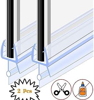 HNNHOME® - Tira de sellado de goma de plástico para ducha (870 mm, curvada o recta): Amazon.es: Hogar
