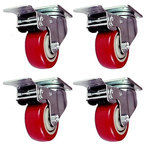Online Best Service 4 Pack Caster Wheels