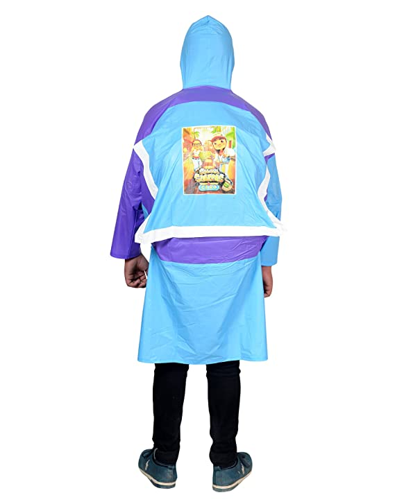 Devil Unisex Kids Coloured school bag Raincoat