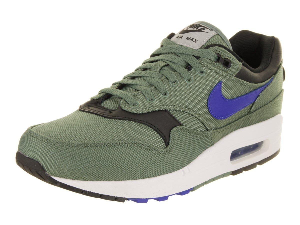 607807d10ab1 Galleon - Nike Men s Air Max 1 Premium Gymnastics Shoes (Clay Green Hyper  Royal White B 300)