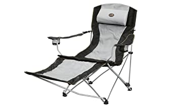 Easy Camp Deluxe Reclining Chair   Grey, One Size