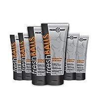 FRESH BALLS Male Hygiene Antiperspirant Lotion 3.4 oz 6 PACK