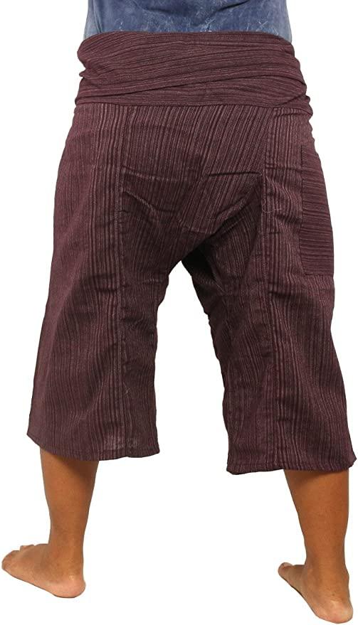 Thai fisherman pants with 1 pocket see detail free size .FP6 Discount 20/%--Short Soft Cotton pants