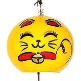 江戸风铃小丸财运招财猫微笑