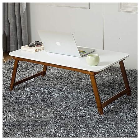Mesa de Picnic Cama Plegable de bambú Escritorio portátil ...