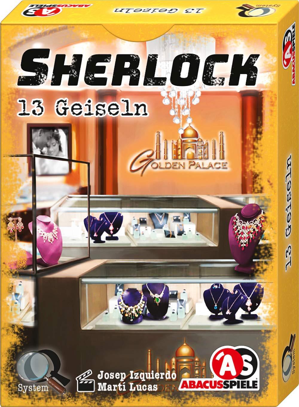 Abacusspiele 48195 Sherlock - Juego de Cartas de 13 rehenes ...