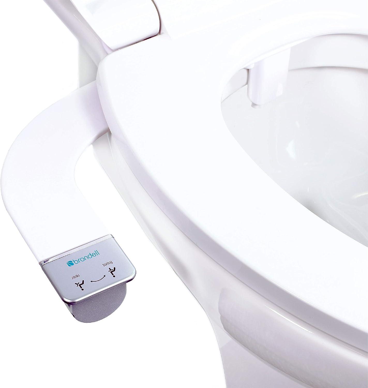 Thinline Dual Nozzle SimpleSpa SS-250 Fresh Water Spray Non-Electric Bidet Toilet