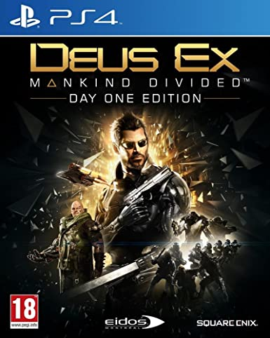 Deus Ex: Mankind Divided - Édition Day One [Importación Francesa ...