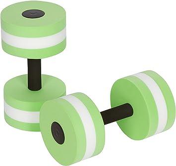 Azúcares ejercicio acuático mancuernas de espuma agua ejercicio aeróbico Aqua Fitness mancuernas - Set de 2 - para aquaeróbic, Verde: Amazon.es: Deportes y ...
